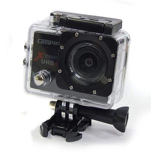 【中古】カメラ campark 4k アクションカメラ Xtreme I+ UHD 4K (ブラック) [ACT74](状態:箱(内箱含む)欠品、液晶画面にキズ有り)
