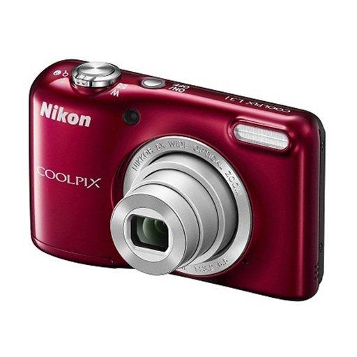 【中古】カメラ Nikon デジタルカメラ COOLPIX L31 1014万画素 (レッド) [L31RD]
