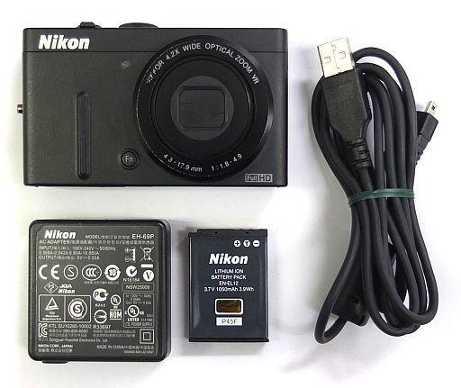 【中古】カメラ デジタルカメラ COOLPIX P310 1610万画素 (ブラック) [P310BK] (状態:各付属品欠品/本体状態難※詳細は商品説明を御覧下さい)