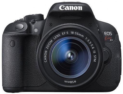 【中古】カメラ Canon デジタル一眼レフカメラ EOS Kiss X7i EF-S18-55 IS STM レンズキット 1800万画素 [KISSX7i-1855ISSTMLK](状態:レンズ・レンズキャップ欠品)