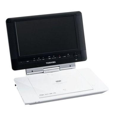 【中古】DVDプレイヤー/レコーダー 9V型 ポータブルDVDプレーヤー ポータロウ (シェルホワイト) [SD-P93DTW]