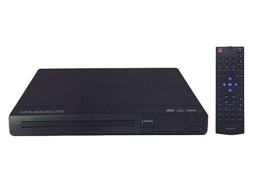 【中古】DVDプレイヤー/レコーダー ティーズネットワーク コンパクト&シンプルDVDプレーヤー [DVDJ-2152]
