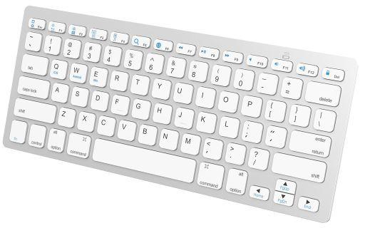 【中古】タブレット端末 JETech Bluetoothキーボード (ホワイト) [2156-KB-BT-Universal-WH]