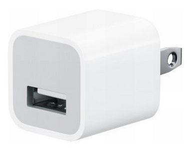 【中古】家電サプライ USB CHARGER ADAPTER (ホワイト) [A1265]