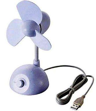 【中古】USBアクセサリ USB扇風機