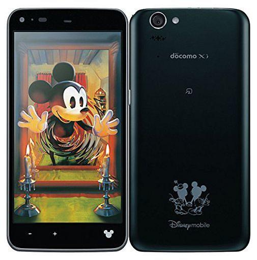 【中古】携帯電話 スマートフォン docomo Disney Mobile シルキーブラック [SH-05F](状態:本体状態難)