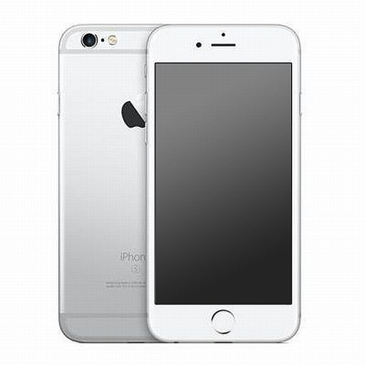 【中古】携帯電話 スマートフォン iPhone6S SIMフリー 128GB シルバー[MKQU2J/A]