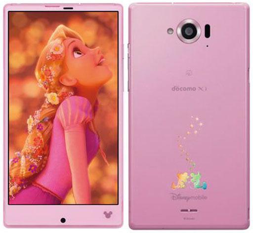 【中古】携帯電話 スマートフォン SH-02G Disney Mobile on docomo docomo ピンク(状態:本体のみ)
