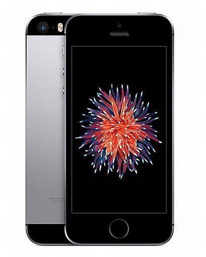 【中古】携帯電話 iPhone SE 64GB (SIMフリー/スペースグレイ) [MLM62J/A]