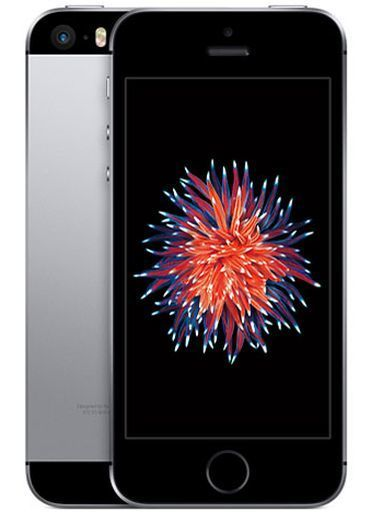 【中古】携帯電話 iPhone SE 16GB (simフリー/スペースグレイ) [MLLN2J/A]