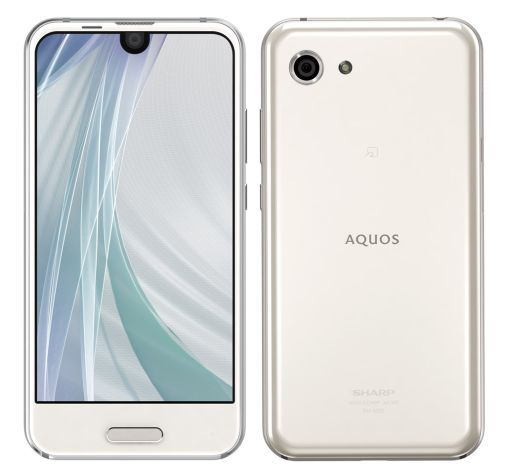 【中古】携帯電話 スマートフォン AQUOS R compact (ホワイト) [SH-M06(W)]