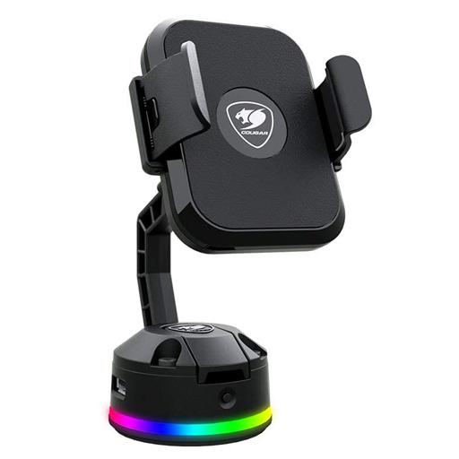 COUGAR 新品 携帯電話アクセサリー COUGAR ワイヤレス RGB モバイル充電スタンド BUNKER M (ブラック) [BUNKER M RGB]