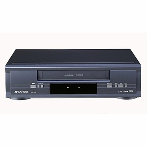 【中古】VHSビデオデッキ ドウシシャ SANSUI ビデオカセットプレーヤー [RVP-100]