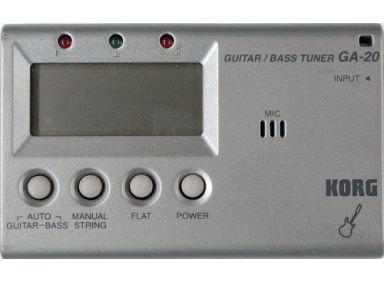 【中古】デジタル楽器 ギター・ベースチューナー [GA-20]