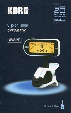 【中古】デジタル楽器 ギター用 クリップ式クロマチック・チューナー Clip-ON TUNER (ホワイト) [AW-2GWH]