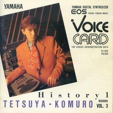 【中古】デジタル楽器 EOS専用 VOICE CARD 小室哲哉 Vol.3 [RCD3000]