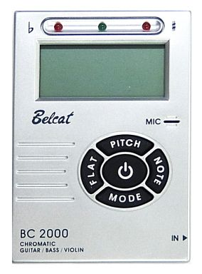 【中古】デジタル楽器 BELCAT CHROMATIC TUNER BC2000 [BC-2000/SV]