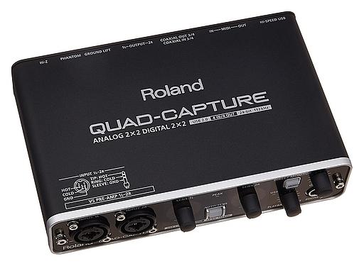 【中古】デジタル楽器 オーディオインターフェイス QUAD-CAPTURE [UA-55]