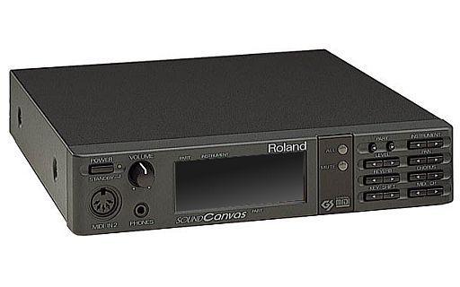 【中古】デジタル楽器 SOUND CANVAS MIDI SOUND GENERATOR SC-55(状態:オーディオケーブル・HDMIケーブル欠品)