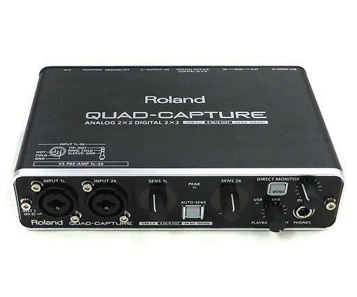 【中古】デジタル楽器 オーディオインターフェイス QUAD-CAPTURE [UA-55](状態:箱(内箱含む)欠品)