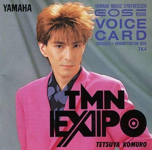 【中古】デジタル楽器用ソフト TMN EXPO 小室哲也 EOS VOICE CARD[B500専用]