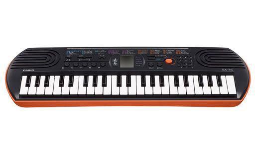 【中古】デジタル楽器 ミニキーボード 44ミニ鍵盤 [SA-76](状態:キーボードのみ)