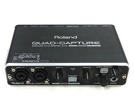 【中古】デジタル楽器 オーディオインターフェイス QUAD-CAPTURE [UA-55](状態:箱(内箱含む)・付属DVD-ROM欠品)