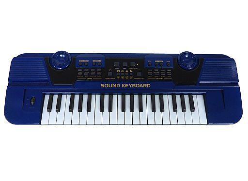 【中古】デジタル楽器 プレイサウンドキーボード 37鍵盤 (ブルー) [AH9440]