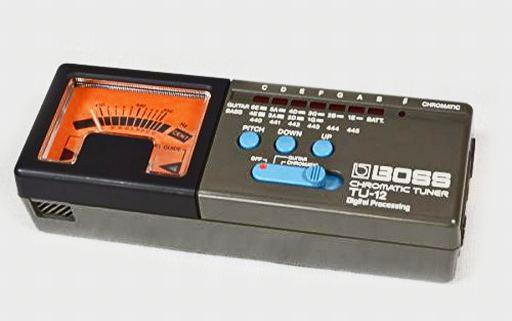 【中古】デジタル楽器 BOSS クロマチック・チューナー [TU-12] (状態:箱欠品)