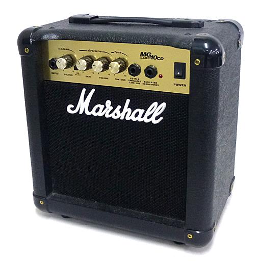 【中古】オーディオプレイヤー・コンポ 小型ギターアンプ [MG10CD-J] (状態:説明書欠品/箱・本体不良有/接続プラグ・ケーブル付/※詳細は商品説明を御覧下さい)
