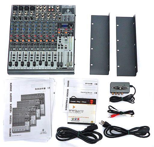 【中古】デジタル楽器 アナログミキサー&U-CONTROL [XENYX1622FX/UCA200] (状態:各部付属品欠品/各部状態難※詳細は商品説明を御覧下さい)