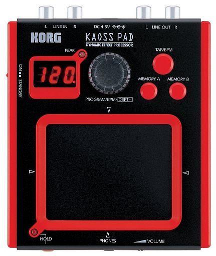【中古】デジタル楽器 ダイナミックエフェクトプロセッサー KAOSS PAD MINI [mini-KP]