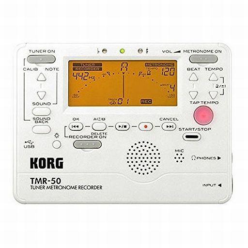 【中古】デジタル楽器 チューナー メトロノーム レコーダー TMR-50 (パールホワイト) [MR-50PW]