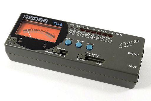 【中古】デジタル楽器 BOSS ギター&ベース オートチューナー [TU-8]