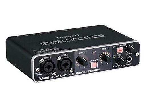 【中古】デジタル楽器 オーディオインターフェイス QUAD-CAPTURE [UA-55] (状態:USBケーブル欠品)