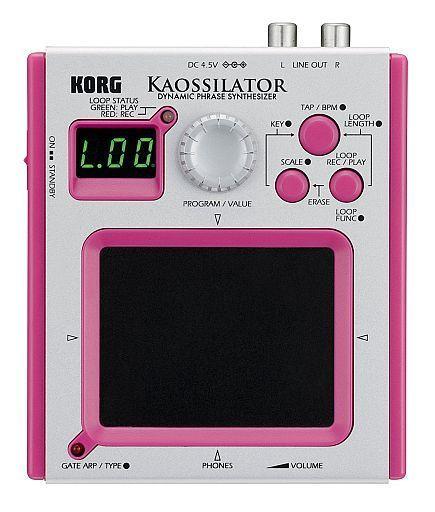 【中古】デジタル楽器 ダイナミック・フレーズ・シンセサイザー KAOSSILATOR  (ピンク) [KO-1PK](状態:パラメーター・リスト欠品)