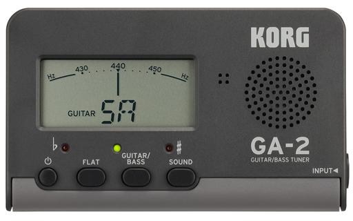 【中古】デジタル楽器 KORG GUITAR/BASS TUNER [GA-2]