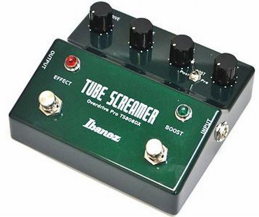【中古】デジタル楽器 IBANEZ ギター用エフェクター TUBE SCREAMER OVERDRIVE PRO [TS808DX]