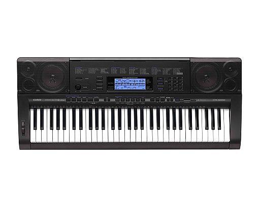 【中古】デジタル楽器 CASIO ハイグレードキーボード ELECTRONIC KEYBOARD [CTK-5000]