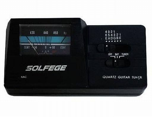 【中古】デジタル楽器 SOLFEGE QUARTZ GUITAR TUNER [STU-1]