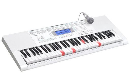 【中古】デジタル楽器 CASIO 光ナビゲーションキーボード 61鍵盤 [LK-221] (状態:接続コード欠品/本体状態難)
