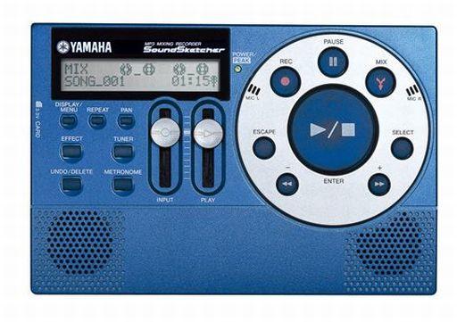 【中古】デジタル楽器 YAMAHA MP3 MIXING RECORDER SOUND SKETCHER [SH-01] (状態:CD-ROM・USBケーブル欠品/本体状態難)