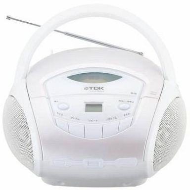 【中古】オーディオプレイヤー・コンポ ポータブルCDラジオ ホワイト[SP-CD8211WH]