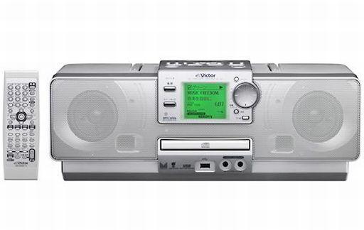 【中古】オーディオプレイヤー・コンポ CDメモリーポータブルシステム Clavia (シルバー) [RD-M1-S] (状態:説明書欠品)