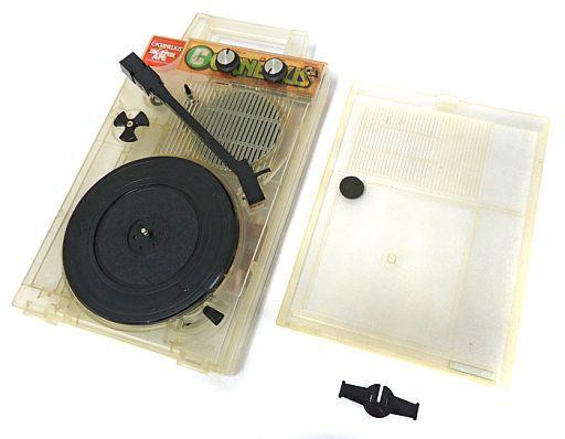 【中古】オーディオプレイヤー・コンポ CORNELIUS ポータブルレコードプレーヤー (SKELTON APE) [GP-3C](状態:不備有 ※詳細については備考をご覧ください)