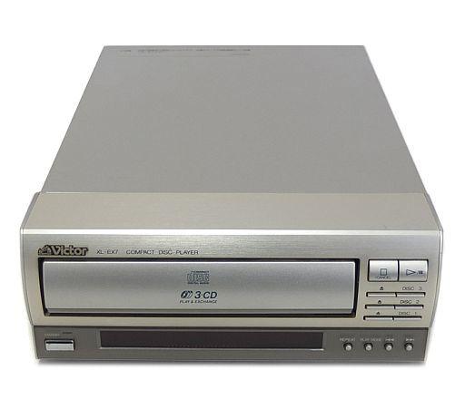 【中古】オーディオプレイヤー・コンポ ビクター 3連装CDプレイヤー [XL-EX7]