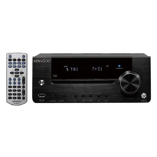【中古】オーディオプレイヤー・コンポ JVC CD/USBレシーバー (ブラック) [R-K731-B]