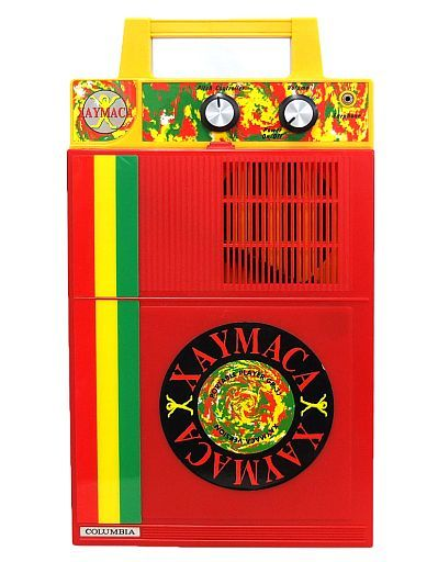 【中古】オーディオプレイヤー・コンポ 日本コロムビア ポータブルプレーヤー (XAYMACA/ジャマイカ) [GP-3J] (状態:箱・説明書欠品)
