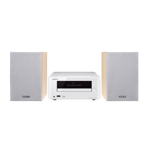 【中古】オーディオプレイヤー・コンポ ONKYO CDレシーバーシステム (ホワイト) [X-U6(W)]