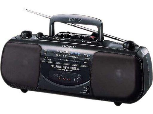 【中古】オーディオプレイヤー・コンポ ソニー ラジオカセットコーダー [CFS-E16]